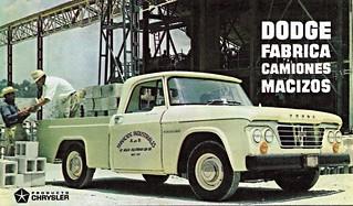 1964 Dodge D-100 Pick-Up (Mexico)
