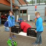 2014 - Bänke bauen