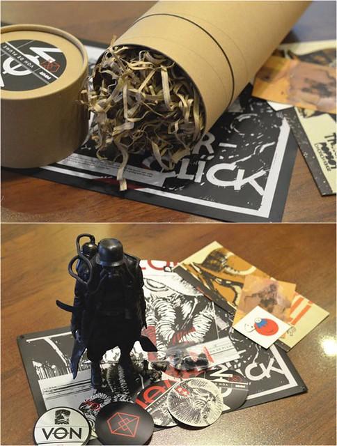 【玩具人天堂殺豬的投稿】threeA 2016年會員禮:von de plume的開箱文