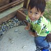The boys love playing with rocks. Their imagination and stories always make me smile