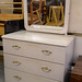 White bedroom dresser €50