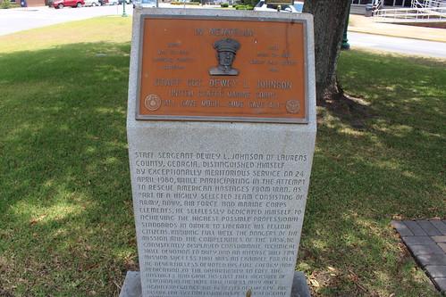 Staff Sgt Dewey L Johnson memorial, Dublin