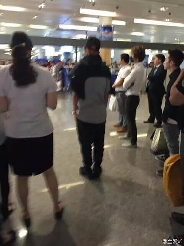 BIGBANG GDTOPDAE arrival Hangzhou 2015-08-25 105