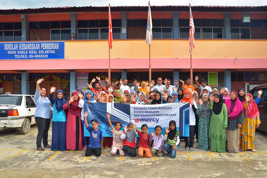 MERCY Malaysia Building Resilient Communities at Kampung Pemberian , Kuala Krai, Kelantan Darul Naim (Funded by Maybank Foundation)