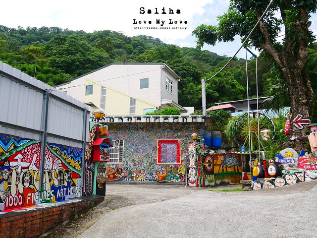 新竹一日遊景點軟橋彩繪藝術村 (12)