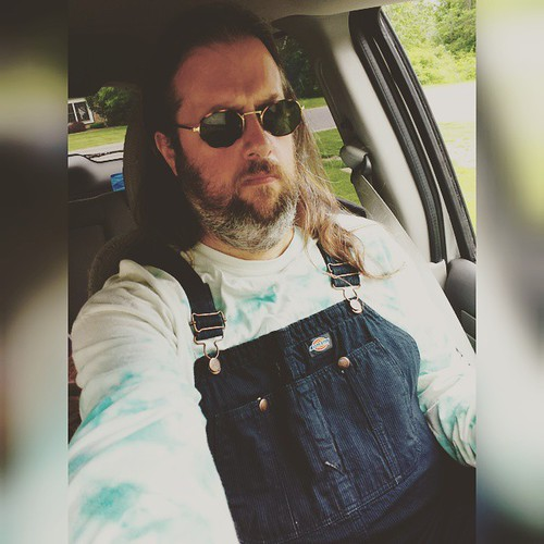 Ready for a day of writing and general badassery. #overalls #instashot