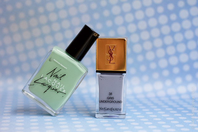 00 American Apparel A Office + YSL 38 Gris Underground