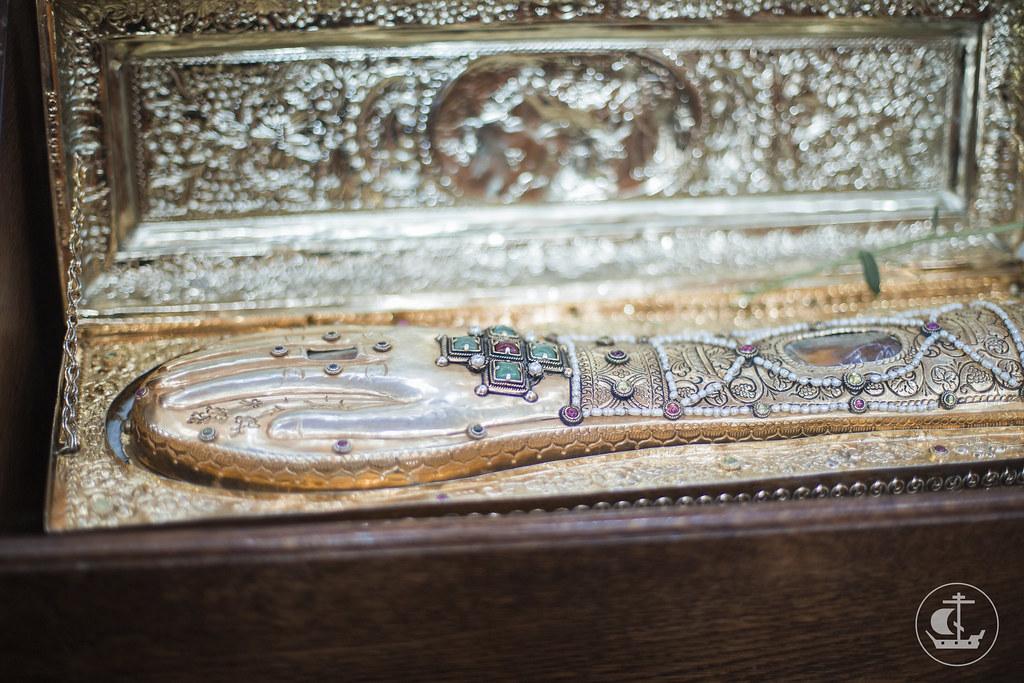 6 июня 2015, Проводы десницы великомученика Георгия Победоносца / 6 June 2015, Seeing off the right hand of St. George the Victorious