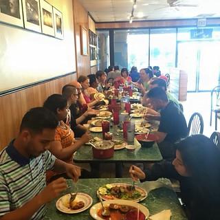 Vegan brunch at Quan Yin - I love my vegan community. Miss them!