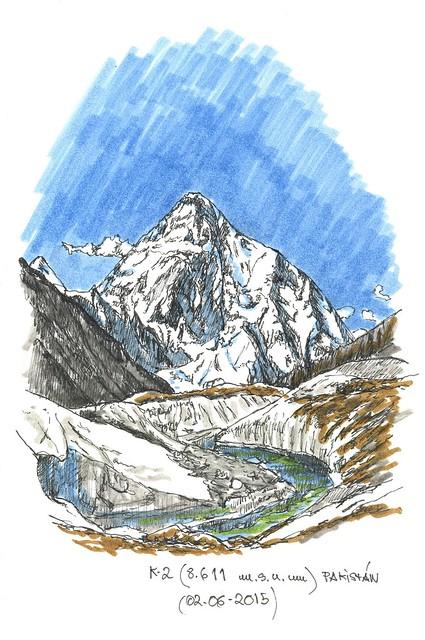 Chogori o K-2 (8.611 m.s.n.m.)