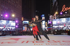 Save the Dream event in Times Square, New York