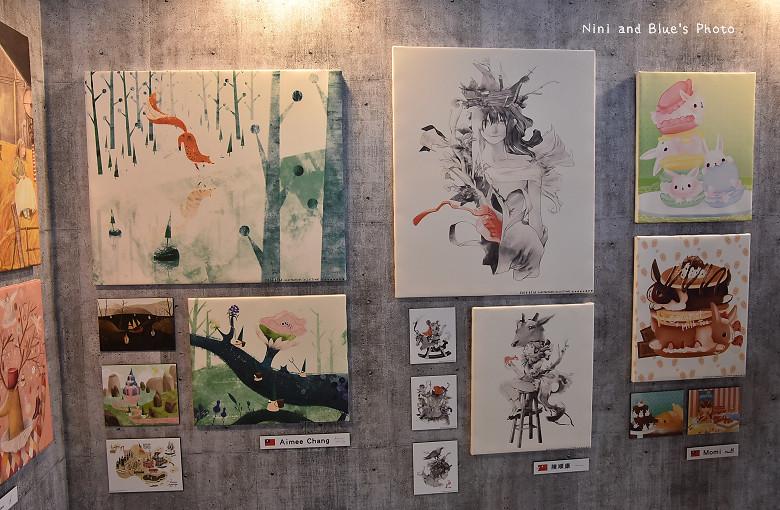 台中後火車站舊酒廠王畫創意園區2016插畫展16