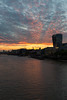 Sunset over 20 Fenchurch St