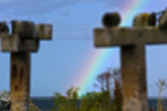 Rainbow over Ljugarn