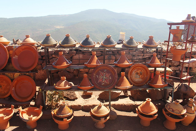 Berber shop in the Atlas Mountains