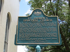 St Andrews Episcopal Church Marker Tampa FL