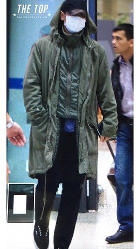 Big Bang - Incheon Airport - 28sep2015 - The TOP - 01