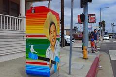 Painted Utility Box - San Pedro
