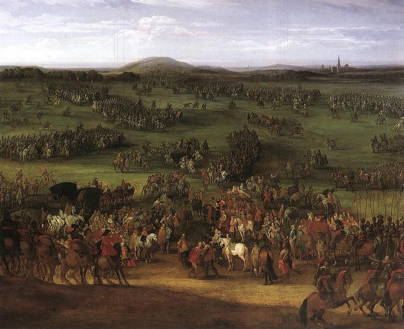 The Battle of Nördlingen by Pieter Meulener