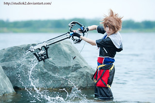 Sora and Oblivion - Cosplay by KetsuRi -- photo by studioK2