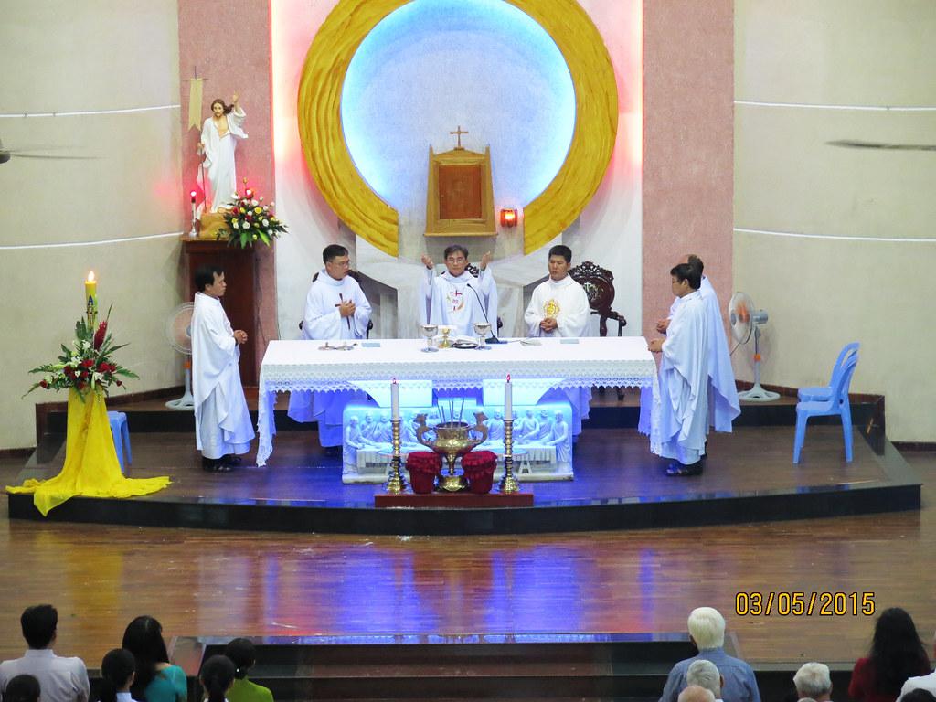 Thánh Lễ Nhận Sứ Vụ Chánh Xứ Giáo Xứ Minh Đức - Tổng Giáo Phận Sài Gòn