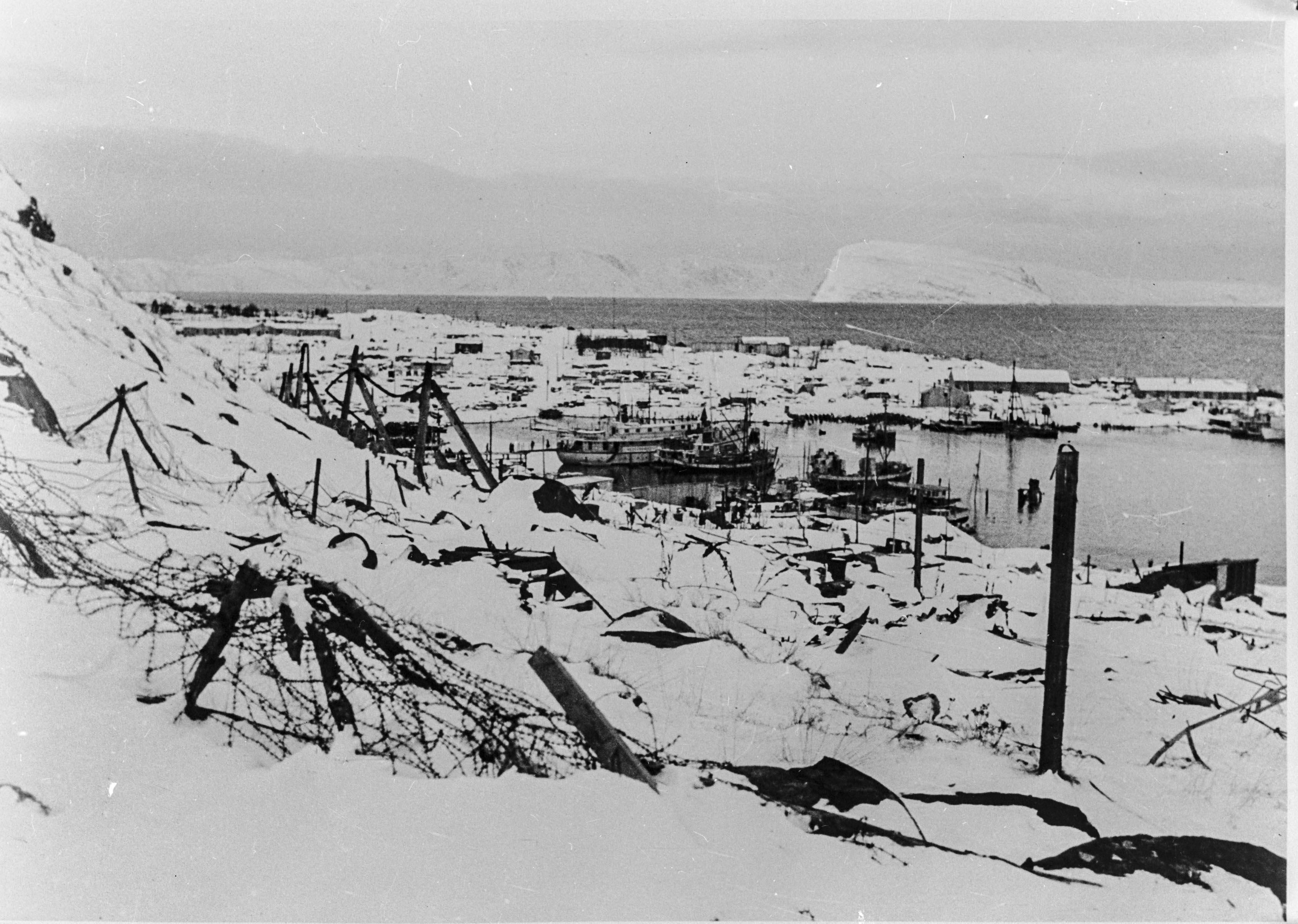 Hammerfest etter tyskernes retrett årskiftet 1944/45