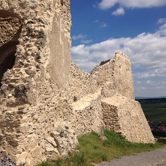 Contrasts #medievalcastels #Rupea #Romania