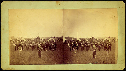 stereographs militarybands stereocards militarycamps iowanationalguard