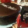 Cake time! SacherTorte with papercraft Conchita #sbseurovision