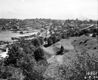 Lake Union from East Queen Anne, 1936