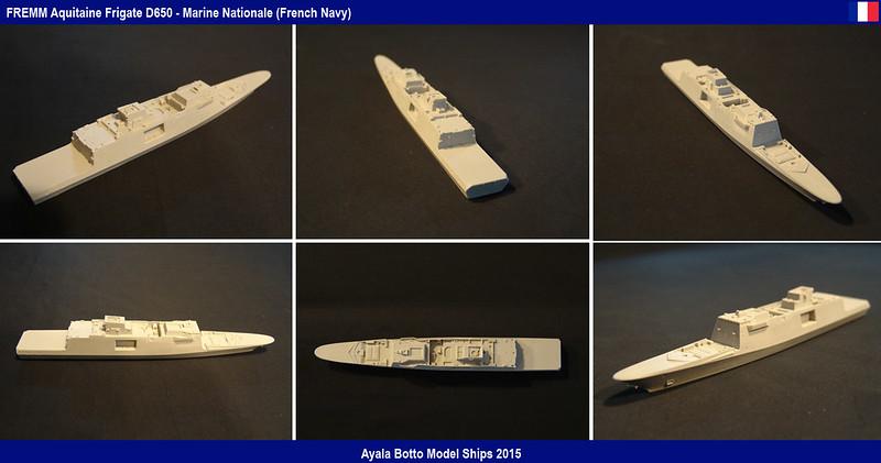 FREMM Aquitaine D650 Frégate ASM - Gwylan Models 1/700 par Ayala Botto 18008061820_b4a42f424a_c
