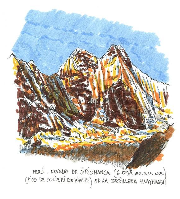 Nevado de Jirishanca (6.094 m.s.n.m.)