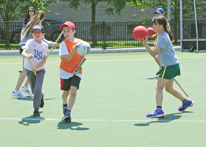 On a sunny July day, around 30 eager kids made their way to the fields of Back Campus at the University of Toronto to learn how to play Quidditch. It's just one of the activities at Camp U of T, which draws children and youth from across the city and around the world.