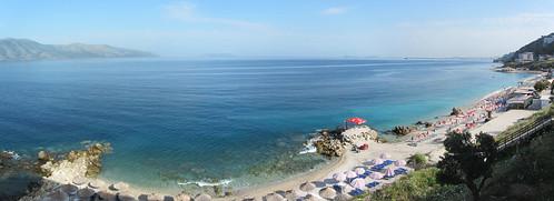 digikam panorama albania beach