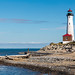 Crisp Point Light on Lake Superior in the Upper Peninsula of Michigan by Craig - S