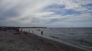 Ostsee wolkig