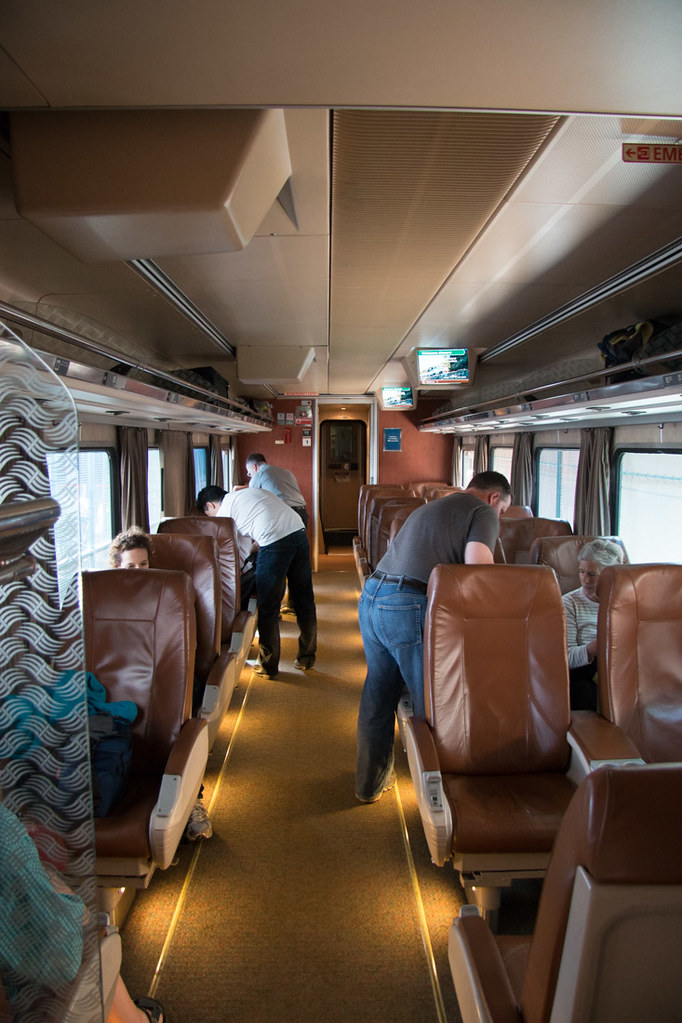 Amtrak Cascades Line Business Class