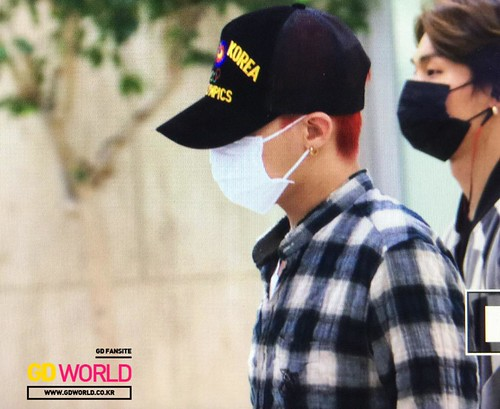 Big Bang - Gimpo Airport - 07jun2015 - TOP - GD World - 0