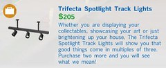 Trifecta Spotlight Track Lights