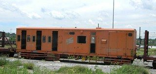 Transnet Guards Van NZ 94 833 109 converted for Queenstown shunting personnel.