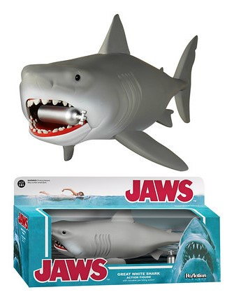 FUNKO X SUPER7 ReAction 系列【大白鯊】Jaws 3.75吋 吊卡