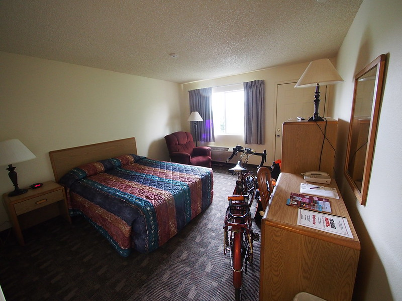 Cocusa Motel Room: Where I stayed before starting the ride