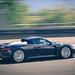 Very rare sight. Porsche Carrera GT on the track.