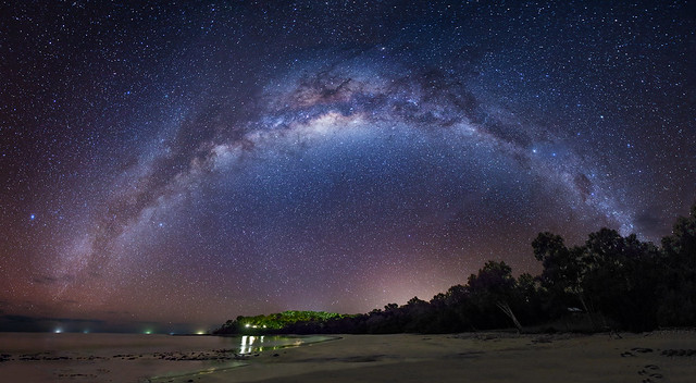 Milky Way over the Coral Sea