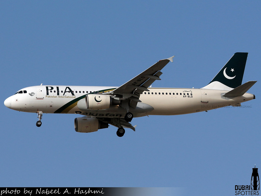 PIA Pakistan International Airlines | Airbus A320-200 | AP-BLD | DXB