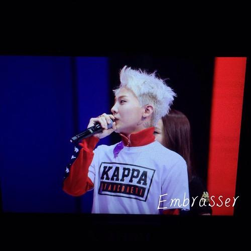 G-Dragon - Kappa 100th Anniversary Event - 26apr2016 - Embrasser_G - 01