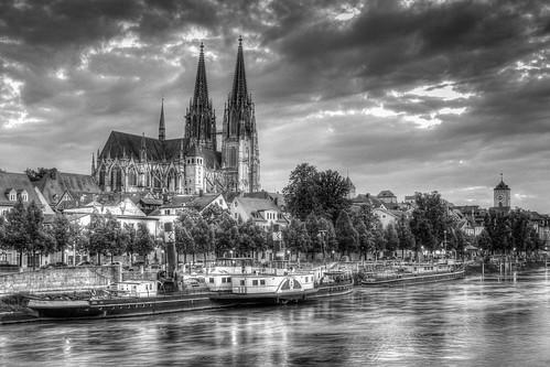 Regensburg, Dom - Marc Aurel Ufer