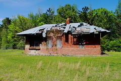 Abandoned Frisco Station - East Aberdeen, MS