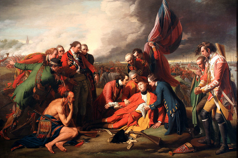 The Death of General Wolfe, by Benjamin West