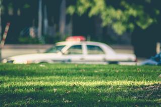 Minneapolis Police Squad Car